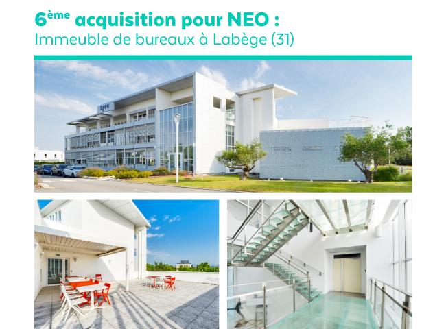 Sixième acquisition NEO à Toulouse
