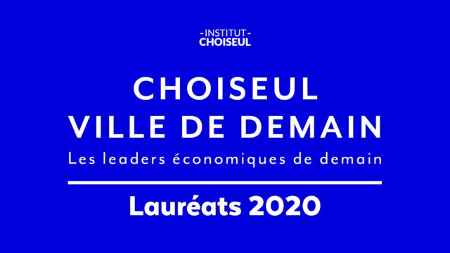 Lauréats 2020 - Classement Choiseul Ville de demain