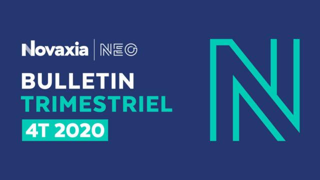 Novaxia Neo - Bulletin trimestriel 4T 2020